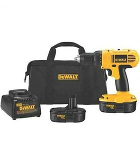 DEWALT 18V Drill/Driver Kit (2 batteries and charger)