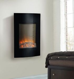"Bnib Homestar Flamelux 35"" high wall mount electric fireplace wi"