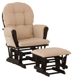 STORKCRAFT COMFORT GLIDER AND OTTOMAN SET Sarnia Sarnia Area image 1