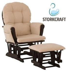 NEW STORKCRAFT GLIDER AND OTTOMAN HOME- NURSERY - GLIDER 108522447