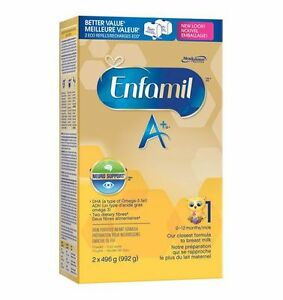 Enfamil A+ Iron Fortified Formula for Infant  2 x 496g