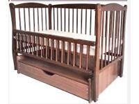 Crib; children's bed