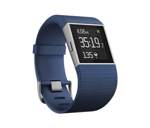 Fitbit Surge- Blue Small- Barely Used! Asquith Hornsby Area Preview