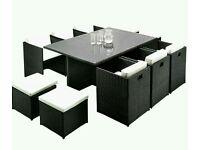 Luxury Garden Rattan Furniture Set