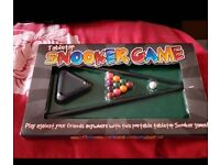 Table Top Snooker Game