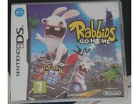 Rabbids Go Home DS game