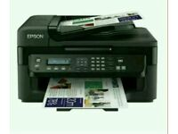 Epson WorkForce WF-2530WF Ultra compact and reliable 4-in-1 for the small office printer with Wifi