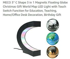 3 colors mini magnetic globe