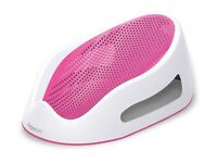 Pink Angelcare bath support seat