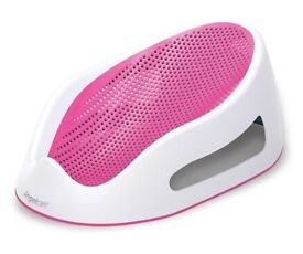 Angel care bath seat in pink