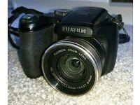 Fujifilm S5800 digital camera (8MP) + box, software, straps and 8gb SD card