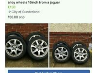 16 inch jaguar wheels