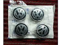 Genuine VW Golf OEM 5G0601171 center caps