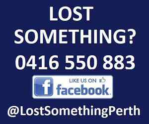 Lost Something? Perth Perth City Area Preview