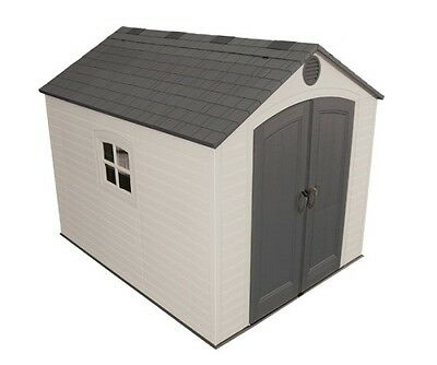 Lifetime Storage Shed 6405 8x10 Plastic Outdoor Building