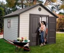 LIFETIME polyethylene garden/storage sheds Casino Richmond Valley Preview