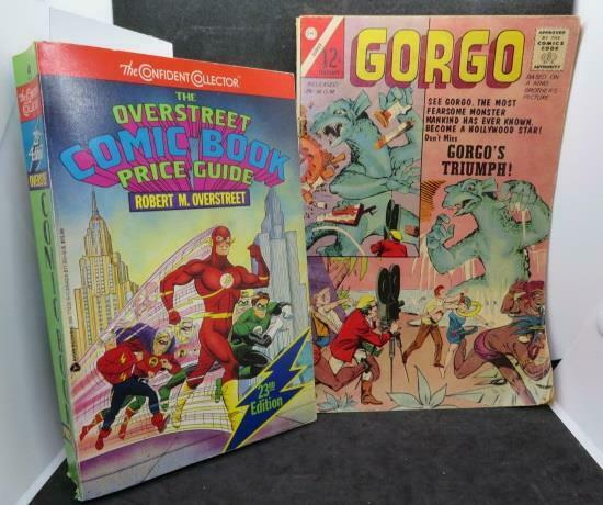 Overstreet Comic Book Price Guide (1993) & Gorgo Gorgo