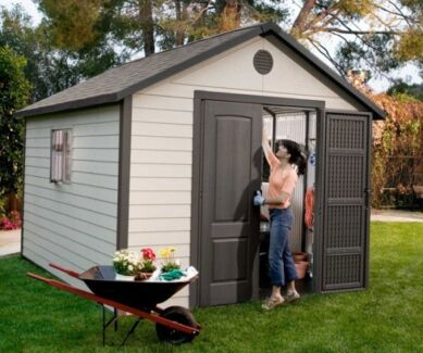shed horizontal polyethylene plastic sheds storage gumtree - Garden Sheds Gumtree