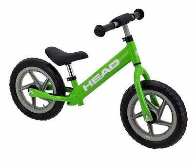 HEAD Kinderlaufrad grün Lernlaufrad Kinder Laufrad Kinderrad Walking Bike