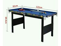 Used 4 foot kids snooker table in great condition