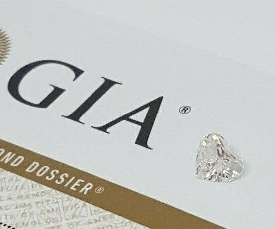 0.61 ct Loose Heart Brilliant Diamond D VS2 *GIA Certified*