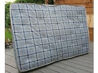 Double Bed Mattress Nearly New (75 inches by 54 inches)