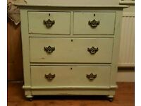Lovely antique chest of drawers (free local delivery)