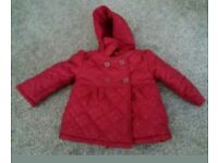 Nutmeg brand new quilted jacket aged 2-3