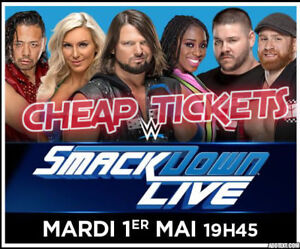 BEST TIX★WWE: Smackdown Centre Bell, Montreal, TUE May 1 7PM★