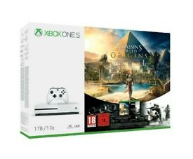 New and sealed Xbox One S 1TB + 2 games