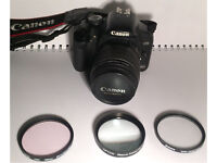 Dslr camera. Canon eos 450d with accesories