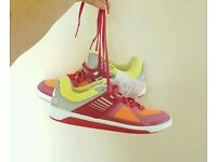Brand New Neon ADIDAS Trainers Men's or Women's Size UK 5.5 Running Shoes BNWT BNIB