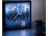 star wars 3D luminart