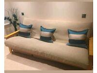 Oak double futon for sale