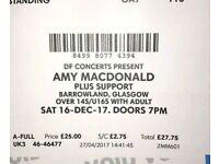 2 x Amy MacDonald tickets