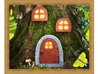 solar powered fairy house