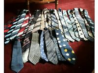 Job lot of Retro Ties