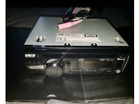JVC CAR STEREO & 3PAIRS OF SPEAKERS
