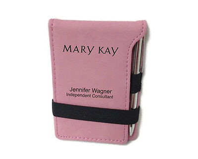 Mary Kay Personalized Pink Jot Note Pad With Pen