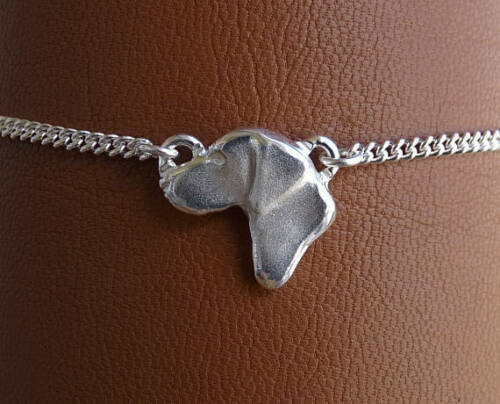 Sterling Silver German Shorthaired Pointer Anklet