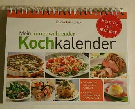 Kochkalender Kalender Rezepte Kochbuch Rezeptbuch