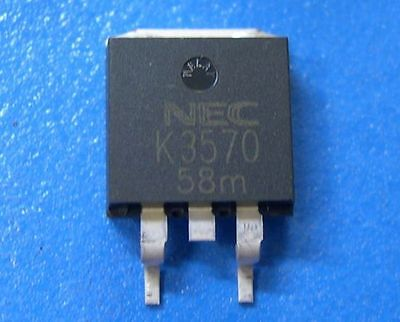 Nec 2sk3570-zk N-channel Power Mos Fet 20v48a To-263 5pcs