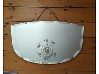 Vintage Retro 50s Wall Mirror