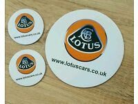 Lotus cars mouse mat and coasters