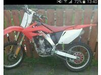Crf 250/2005