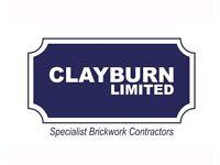 Clayburn limited, brickwork contractors
