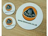Lotus mouse mat and coasters