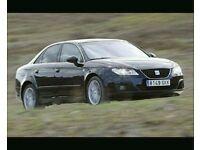 Genuine 09-2013 seat exeo drivers front/rear doors factory (black)