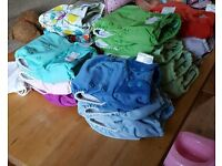 Reusable Nappies Plus lots of accessories