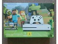 Xbox One S 500GB Minecraft Bundle Brand New